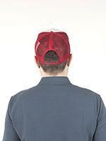 Бейсболка STETSON арт. 7751107 TRUCKER CAP GASOLINE (синий / красный)